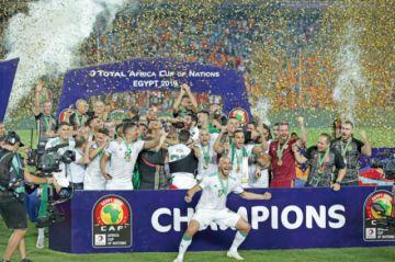 Argelia campeón de la Copa África 29 años después