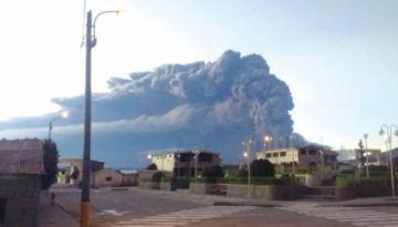 Cenizas de un volcán llegarían a Chuquisaca