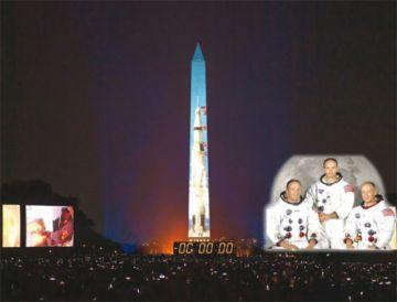 EEUU celebra gesta del Apolo 11 con el objetivo de llegar a Marte
