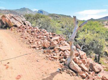 La mina Santa Rita está parada hace dos meses