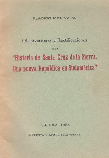 Santa Cruz de la Sierra ¿Una nueva República?