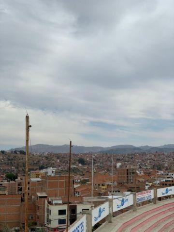 Alerta naranja por descenso de temperaturas en Chuquisaca, Santa Cruz y Tarija