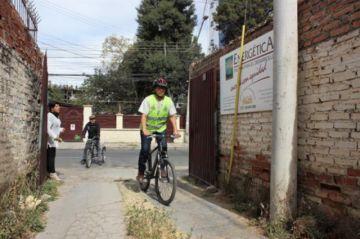 ONG en Cochabamba le paga a sus trabajadores por transportarse en bicicleta