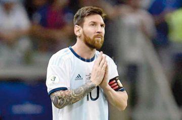 Messi da un paso atrás y se disculpa ante la Conmebol