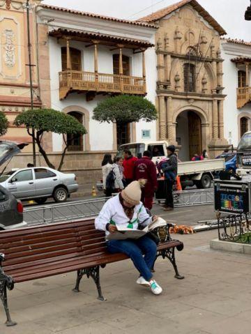 ¡Qué frío!: Lluvia y bajas temperaturas en Sucre