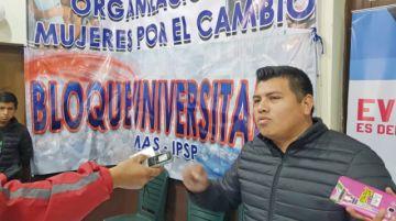 Universitarios del MAS comienzan campaña electoral