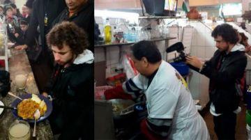 Luisito Comunica prueba más de la comida boliviana