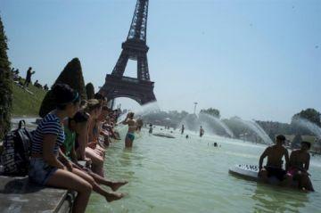 En Europa baten récords históricos de calor