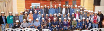 Graduación de 100 operadores de maquinaria pesada