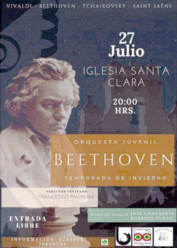 La Orquesta Beethoven  dará concierto de invierno
