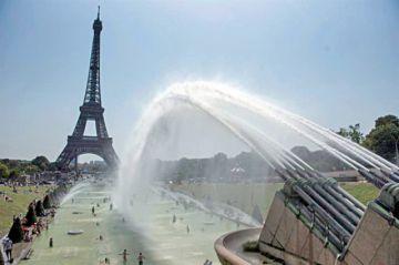 El calor castiga a Europa y marca récord histórico