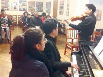 Jóvenes músicos  evocan las obras clásicas alemanas
