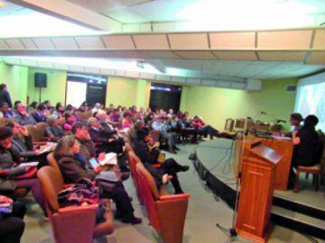Más de 450 bolivianistas  se despiden de la capital
