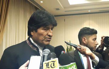 Evo asegura que Bolivia será sede de los Juegos 2027