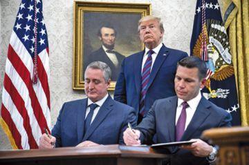 """Guatemala cede a amenazas y será un """"tercer país seguro"""""""
