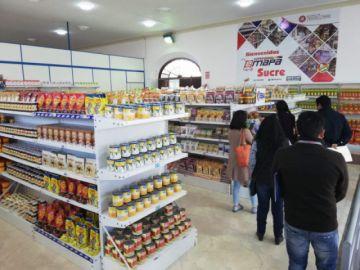 Sucre: Inauguran SuperEmapa para fortalecer el producto nacional