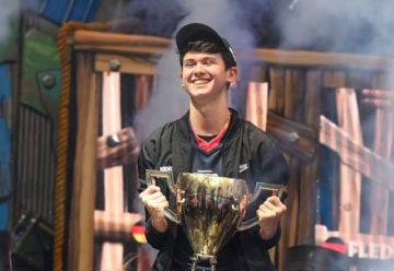 Adolescente de 16 años gana 3 millones de dólares en el mundial de Fortnite