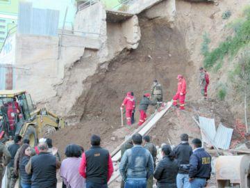 Desplome: Alcaldía procesará al dueño de terreno por daño