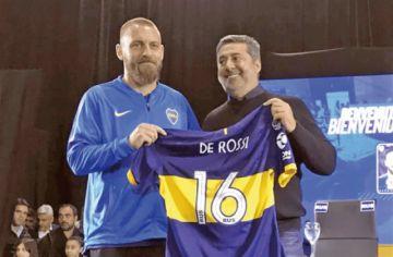 Daniele De Rossi fue presentado en Boca Juniors