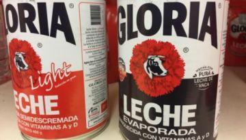 Gloria está en la lista roja de EEUU porque sus productos no serían leche