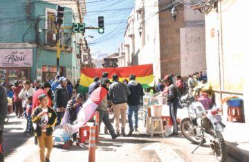 Potosí encara segundo día de paro en defensa de recursos naturales