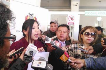 Diputada Yarhui presenta denuncia contra ministro Cocarico