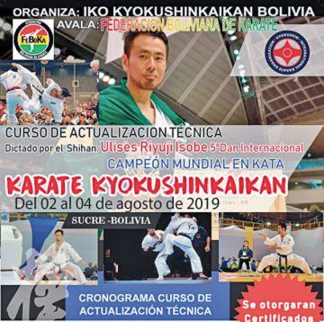 Campeón mundial en Sucre