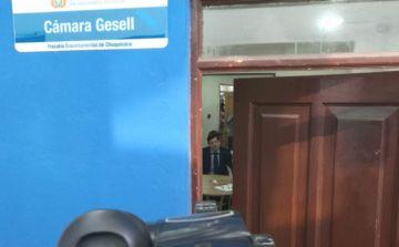 Magistrado Egüez declara en la Fiscalía