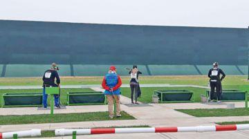 Tiro boliviano sin puntería  en los Juegos
