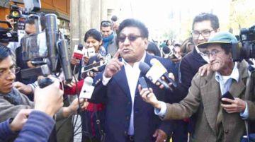 Detienen a diputado del MAS tras su declaración