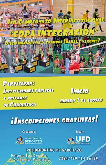 Ministerio organiza torneo