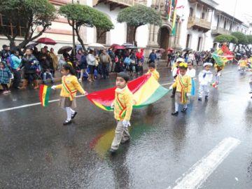 Actos cívicos realzarán los 194 años de Bolivia