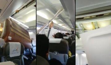 Avión de la estatal BoA sufre un percance al aterrizar en el aeropuerto de El Alto
