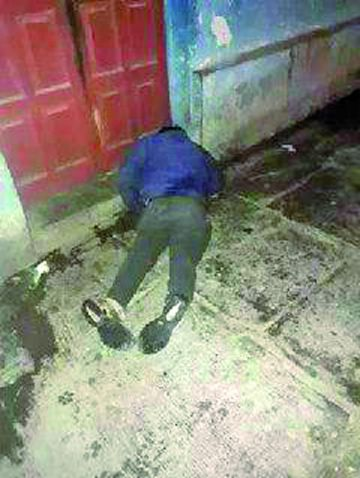 Bebedor consuetudinario muere en arteria de Sucre