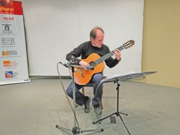 Günther Vilar se lleva aplausos en concierto