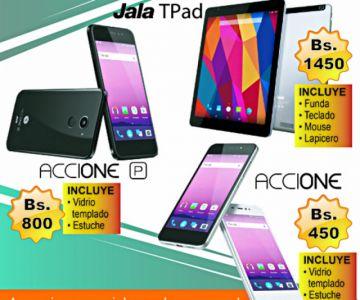 Oferta: Celulares y tablets por el aniversario patrio