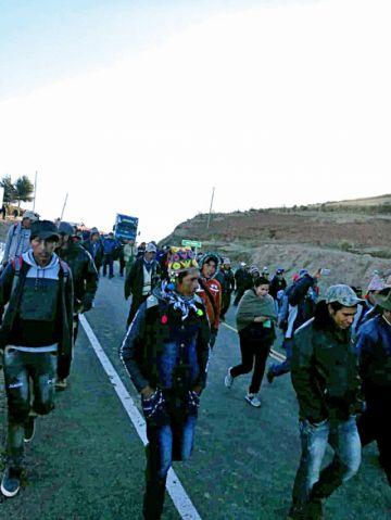 Ravelo: Desisten de bloqueo de carretera