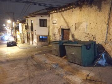 Vecinos de la calle Grau se quejan por la basura y falta de seguridad