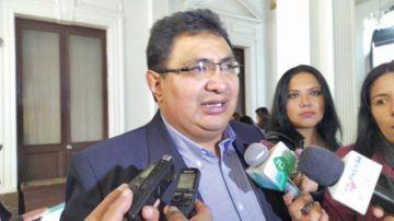Barral pide al Conade exigir la unidad de la oposición