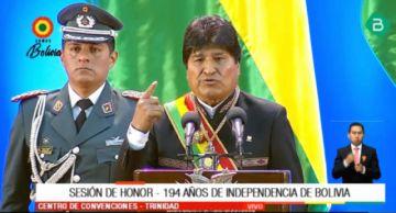 """Morales: """"Quiero ser el presidente de la mejor Bolivia de nuestra historia"""""""