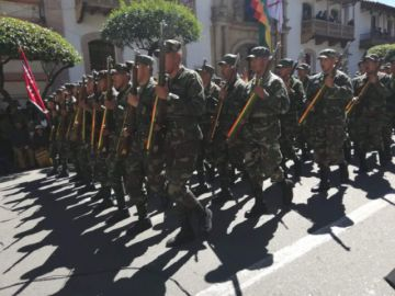 Parada Militar en Sucre se desarrollará en la plaza 25 de Mayo