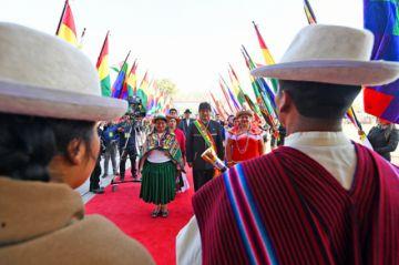 """Evo celebra con pedido de """"proteger lo avanzado"""" en 13 años"""