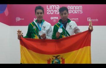 Moscoso y Keller se quedan con la medalla de plata