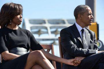 Circula noticia de supuesto divorcio de los Obama y expertos dicen que es falso