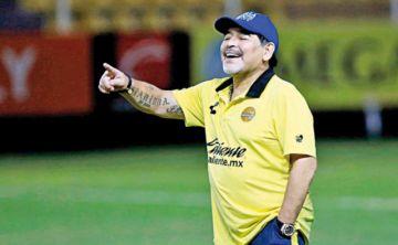 Maradona suena en la Verde
