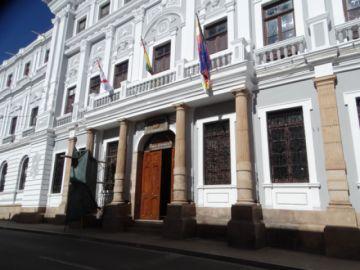 Concluyen la restauración  de fachada de la Asamblea