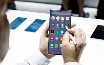 Samsung presenta una nueva familia  de smartphones