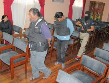 Policía aprehende a dos ladrones en Sucre