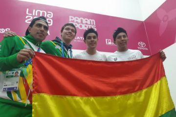 Raquetbol logra un histórico oro para Bolivia