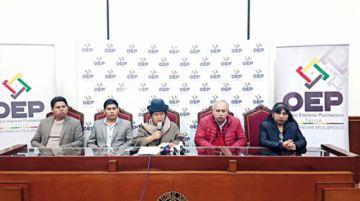 Oposición: Las primarias solo sirvieron para legitimar a Evo